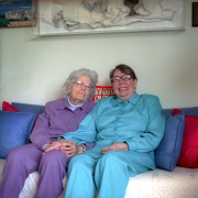 Del & Phylis at Their Home