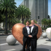 Stuart & John on the Embarcadero