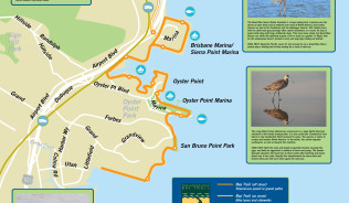 B-cycle Bay Trail Map